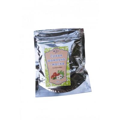 Сухая маска-шампунь Укрепляющая, 75 г (пакет) Микролиз