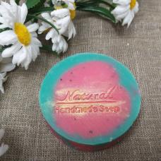 Натуральное мыло ручной работы Арбузное