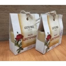 Натуральное мыло Цветочное (Берегиня)