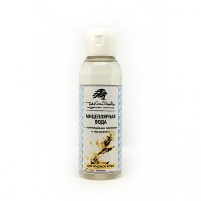 Мицеллярная вода с протеинами пшеницы и тимьяном для жирной кожи, 200 мл Take Care Studio