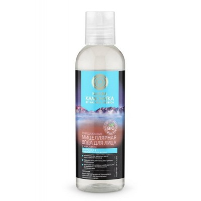Мицеллярная вода с маслами Очищающая Natura Kamchatka, 200 мл