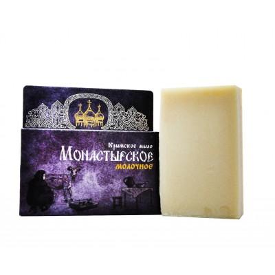 Натуральное Крымское мыло Монастырское Молочное (Сакские грязи)