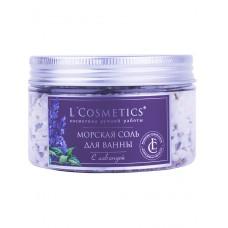 Морская соль мертвого моря для ванн с Лавандой, 300 г (L'Cosmetics)