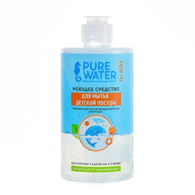 Моющее средство для детской посуды и принадлежностей Pure Water МиКо, 450 мл