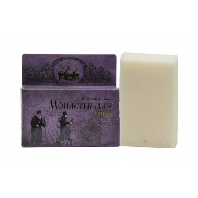 Натуральное Крымское мыло Монастырское Горное (Сакские грязи)