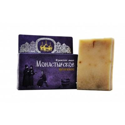 Натуральное Крымское мыло Монастырское Целебное (Сакские грязи)