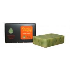 Натуральное мыло ручной работы Крапива - Миндаль