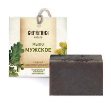 Натуральное мыло Мужское с абсолютом дубового мха, 90 г