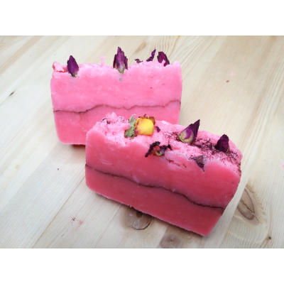 Органическое мыло Розовое настроение, 90-95 г