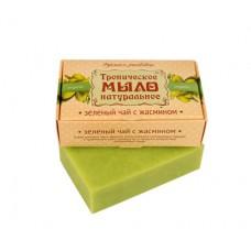 Натуральное мыло Зеленый чай с Жасмином, 100 г