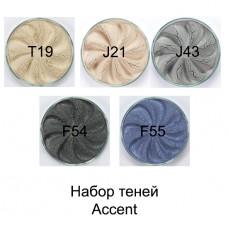 Набор теней Accent  от Era Minerals, 5 шт