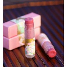 Натуральная оттеночная помада-блеск Розовая, 5 г
