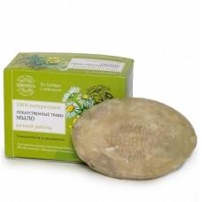 """Натуральное мыло """"Лекарственные травы"""", 90 гр. (питание, оздоровление и укрепление кожи) Siberina"""
