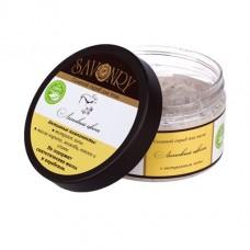 Натуральный солевой скраб для тела Липовый Цвет, 300 г