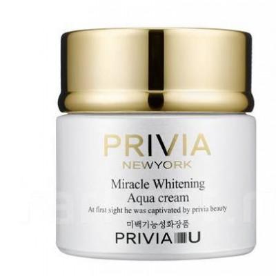 "Анти-возрастной ночной крем-маска ""Privia Miracle Whitening Aqua Cream"", 80 мл"
