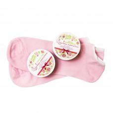 Носочки трикотажные Розовые пяточки для интенсивного ухода за кожей ног