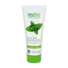 """Очищающий гель """"Fresh Skin"""" NeoBio с био-мятой и морской солью, 100 мл"""