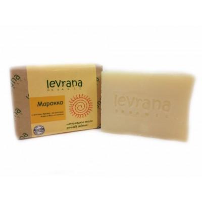 Органическое мыло ручной работы Марокко, 100 г (Levrana)