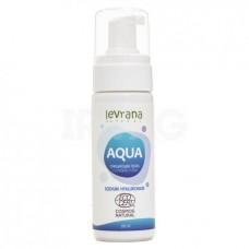 """Пенка для умывания """"Aqua"""" с гиалуроновой кислотой, 150 мл (Levrana)"""