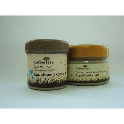 Деликатная пилинг-маска «Карибский кофе» (ароматерапия), 160 г (vi-cosmetics)