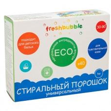 Порошок для стирки Универсальный FreshBubble, 1 кг (Леврана)