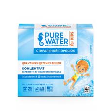 Экологичный стиральный порошок для детского белья Pure Water, 800г