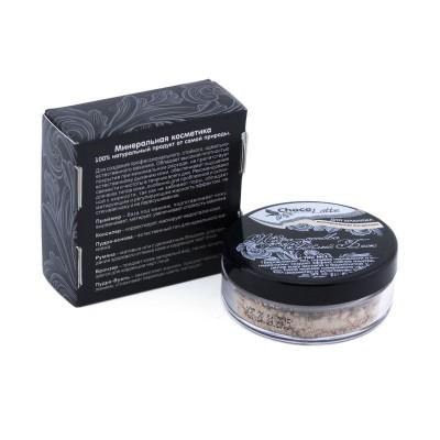 Пудра-Основа Тон №1 Светлый Беж,с матирующим эффектом, 10 мл / 5 г (ChocoLatte)