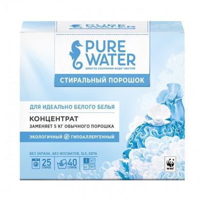 Органический стиральный порошок для белого белья Pure Water, 800 г