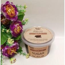 """Сахарный скраб для тела """"Шоколад"""", Organic Zone 250 мл"""