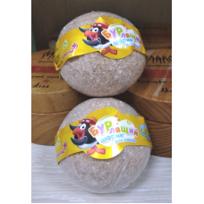 Бурлящий шар для ванны Смешарики - Шоколад