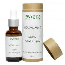 Сыворотка Squalane 100% натуральный растительный Сквалан, 30 мл, Levrana