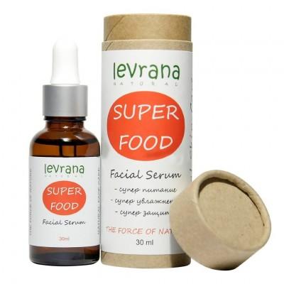 Сыворотка для лица SUPER FOOD, 30 мл, Levrana