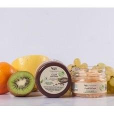 Скраб для лица для сухой кожи с маслом какао Organic Zone, 90 мл