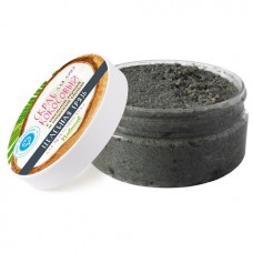 Скраб для лица Кокосовый Целебная грязь  для проблемной кожи, 200 г