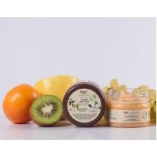 Скраб для лица для зрелой кожи с маслом арганы и жасмина Organic Zone, 90 мл