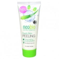Средство для пилинга Fresh Skin с био-мятой и морской солью NeoBio, 100 мл