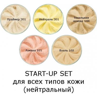 Набор для макияжа Start-Up Set для всех типов кожи (нейтральный) (Era Minerals)