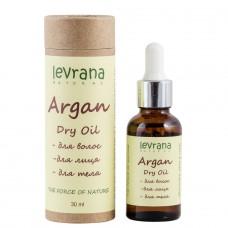Сухое масло Аргании для волос, лица и тела, 30 мл