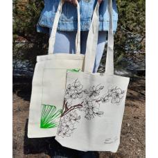Эко-сумка шоппер х/б 31х38 см