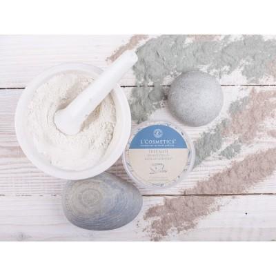Твердый шампунь-кондиционер Голубая глина Восстановление, 55 г (L`Cosmetics)