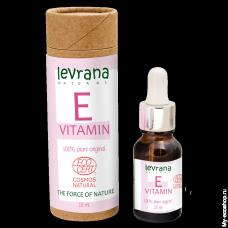 """Сыворотка для лица """"Витамин Е"""" чистый антиоксидант, 15 мл (Леврана)"""