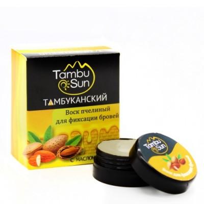 Воск Тамбуканский для фиксации бровей с миндальным маслом, 5 г (Бизорюк)