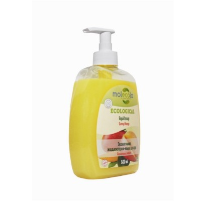 """Экологичное жидкое мыло для рук """"Солнечное манго"""", 500 мл Molecola"""