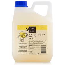 Натуральное моющее средство для посуды Лимон МиКо, 4 л
