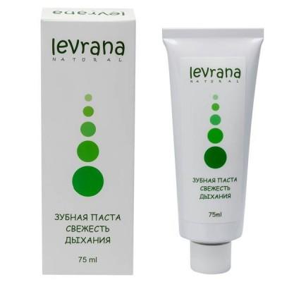 Натуральная зубная паста Свежесть Дыхания (Леврана), 50 мл